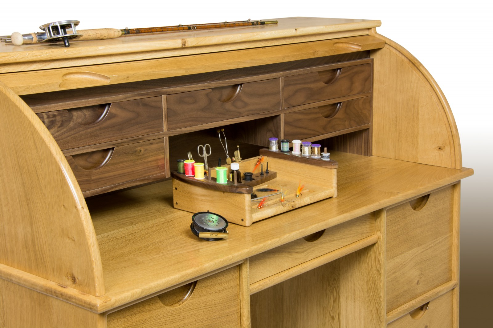 Turner Furniture River Tweed Fly Tying Bureau