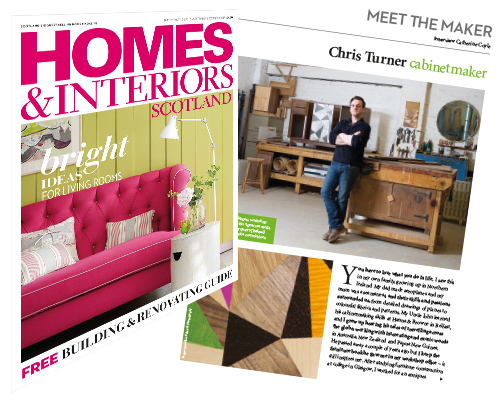 Turner Furniture In Homes And INteriors Magazine